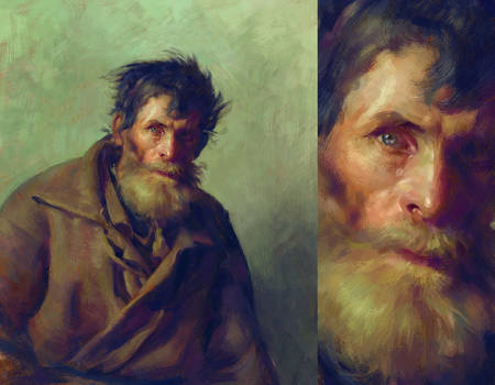 Study of Ilya Repin