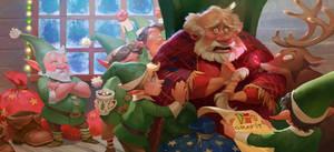 Santa's Little Panic