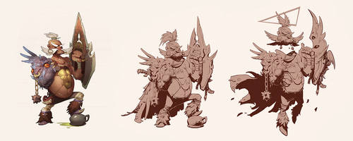 old gladiator upgrade by Toru-meow