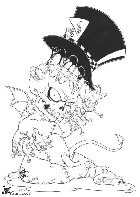 Demon Hatter by OUTBURST73