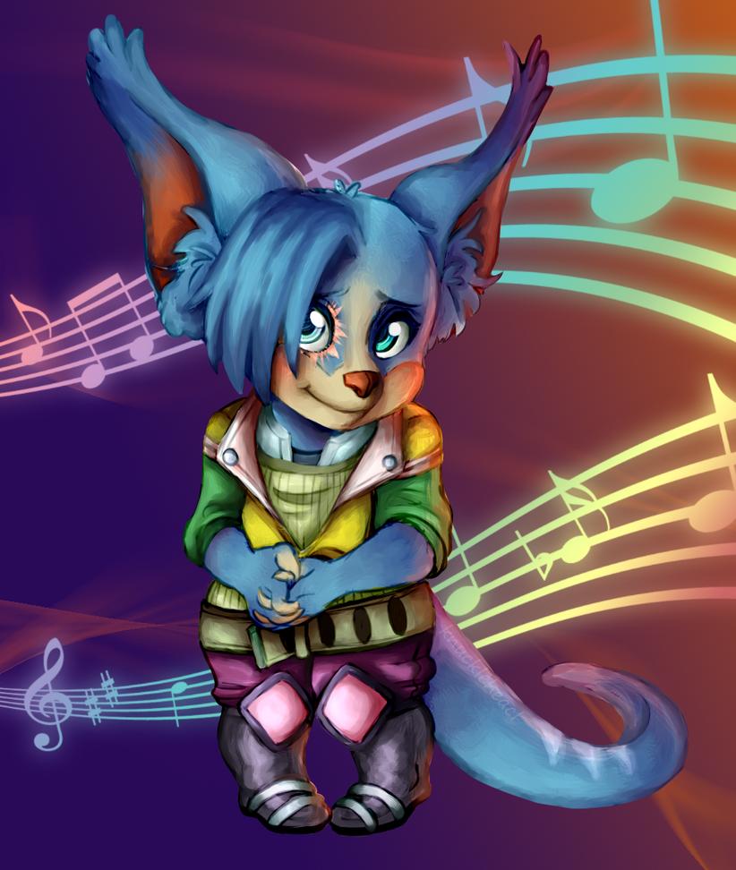 Cutie Cici -commission- by The-Odd-Fox