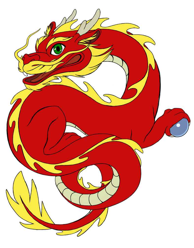 Chibi esque Chinese Dragon By WanderingDragon379 On DeviantArt