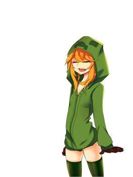 Anime Minecraft Creeper