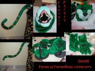 Custom pacato by FursuitBrasil