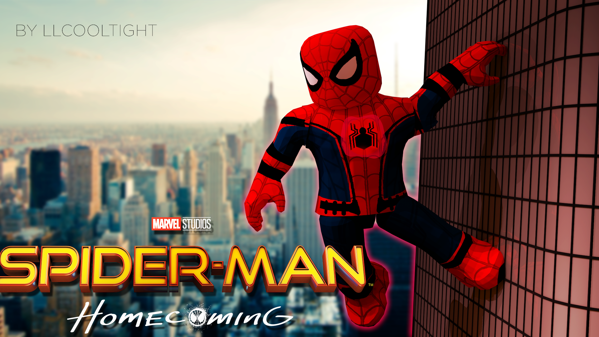 Spider Roblox Avatar Roblox Gfx By Llcooltight Spider Man Homecoming By Llcooltight On Deviantart