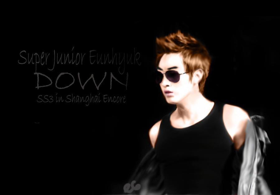 SJ eunhyuk 'Down' by superhyukkie