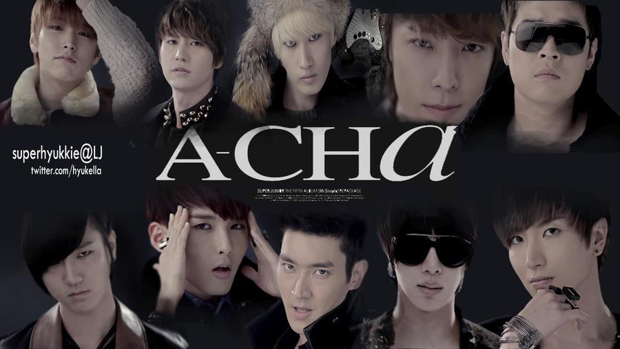 Super Junior ACHA Wallpaper by superhyukkie on DeviantArt
