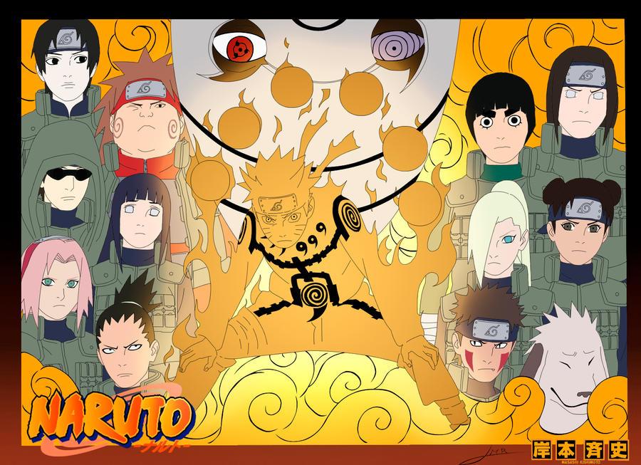 Gladiator 24 Naruto 515 Teks Perang Dimulai