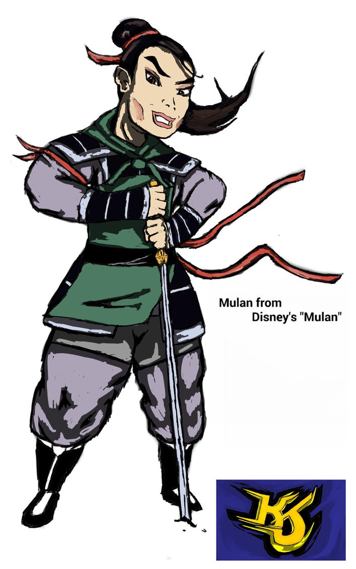 Mulan from Disney's Mulan Commission by KeithJettProductions