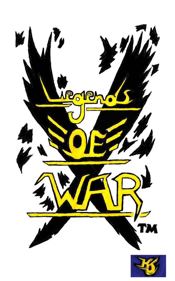 Legends Of War logo owned by KJP by KeithJettProductions
