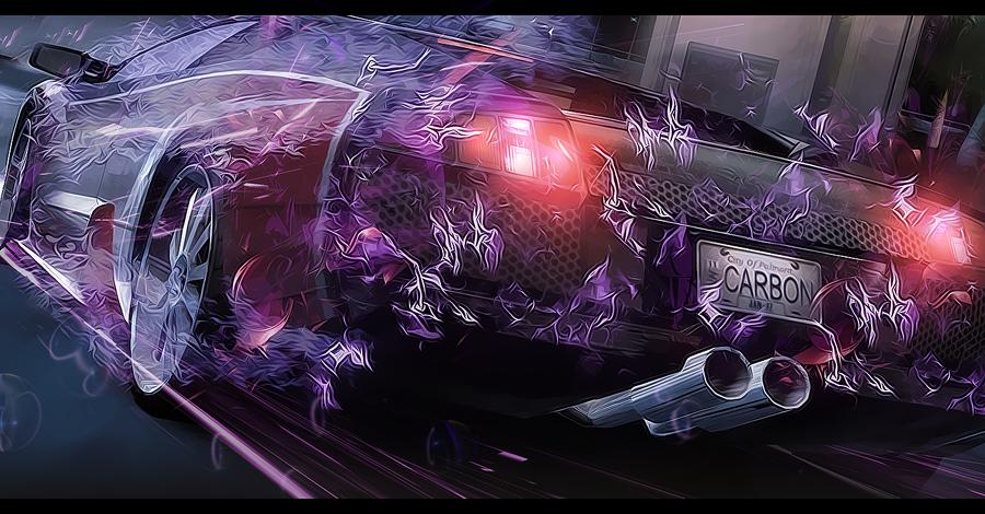 fire car by d7mey
