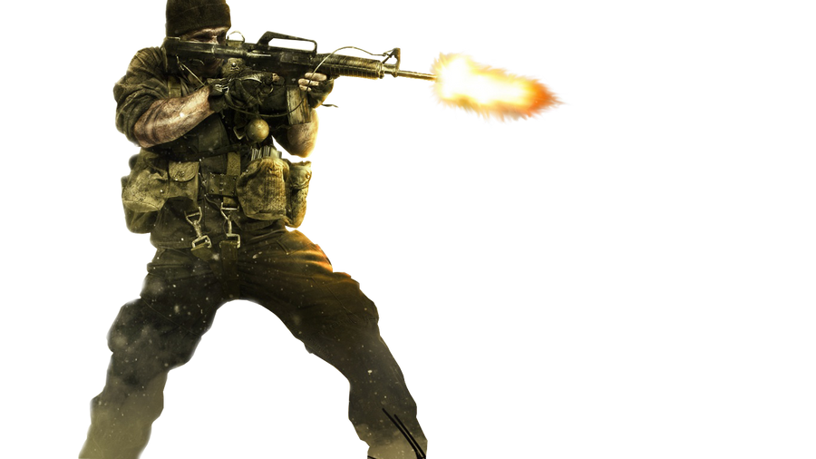 call of duty render by d7mey