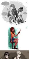 PJ tumblr sketches