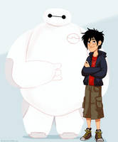 BIG HERO 6 by itsnucleicacid