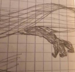 Monster's hand