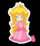 Chibi Princess Peach