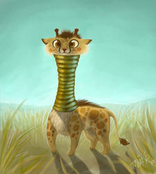 The Girafe Creature by taina-r