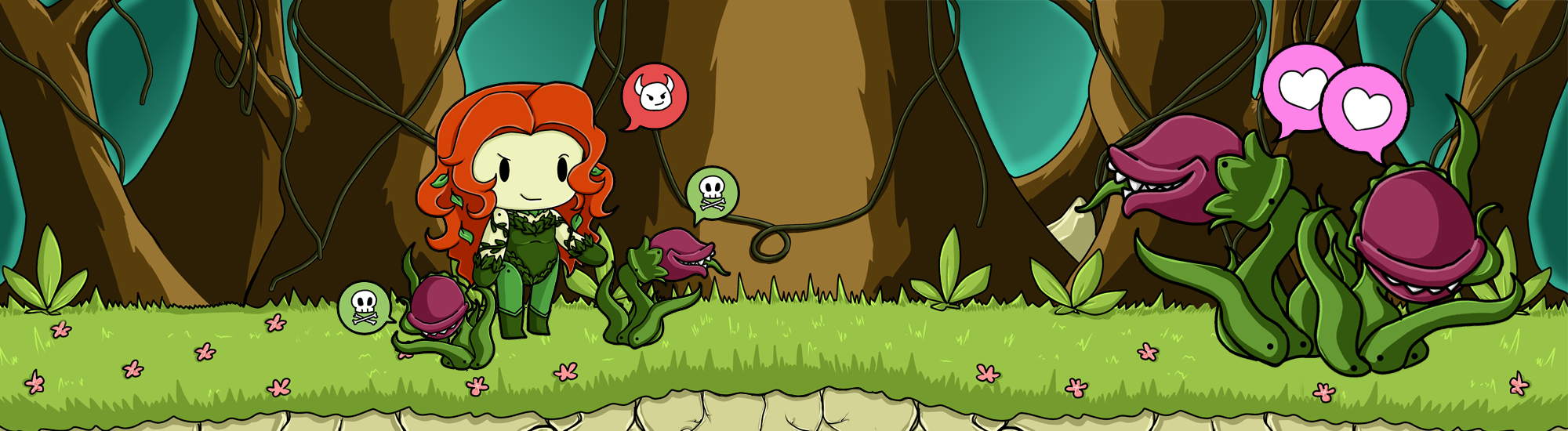 Scribblenauts Poison Ivy by Dare2DreamMedia