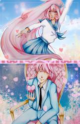 Postcard designs by Amazarahi