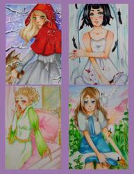 Fairytale Cards by Amazarahi