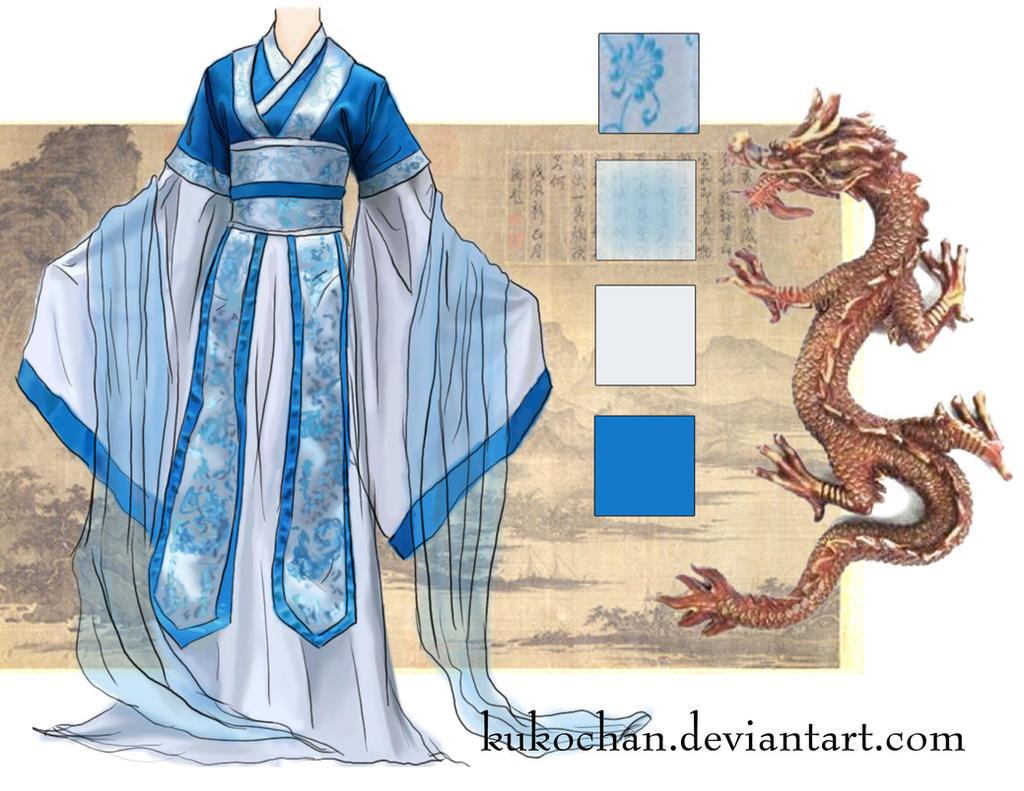 Han Dynasty Robe 3 by kukochan