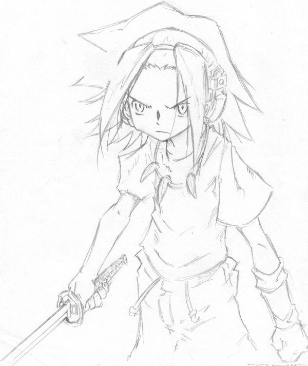 Shaman King - Yoh Asakura by Kenjha