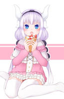 Kanna (Miss Kobayashi's Dragon Maid) by chai-kun