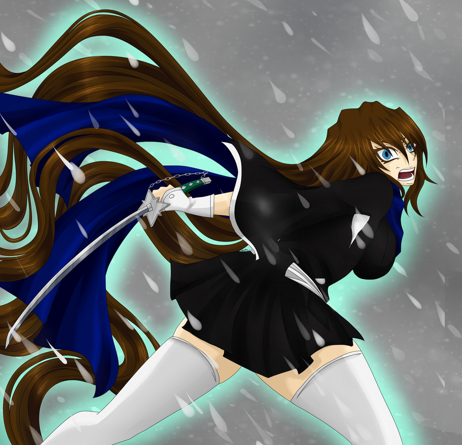 Bleach Oc Arashi By Sickeld160 On Deviantart: BLEACH [OC]: Wrath By Meishiro On DeviantArt