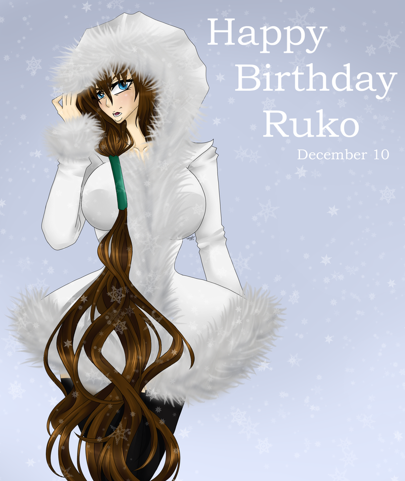 Bleach Oc Arashi By Sickeld160 On Deviantart: BLEACH [OC]: Happy Birthday Ruko 2016 By Meishiro On