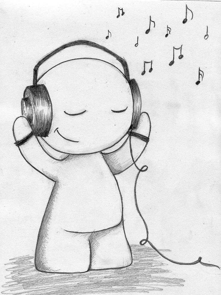i love music by kasqlaa on DeviantArt