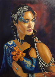Kandyse McClure Oil Painting