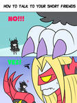 How To Talk To Your Short Friends: Kaiju Edition