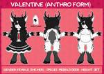 Valentine (Anthro Reference)