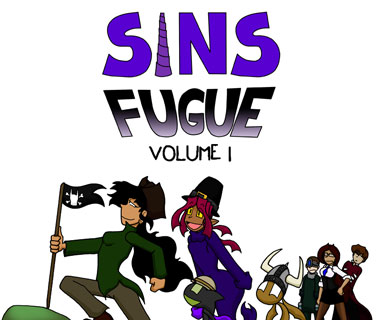 Sins Fugue In Book Form by SinComics