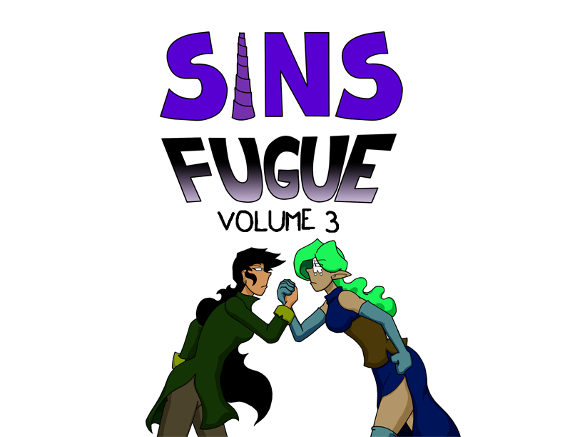 Sins Fugue Volume 3 Book Now Available by SinComics