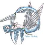 Adora, flying fish mermaid