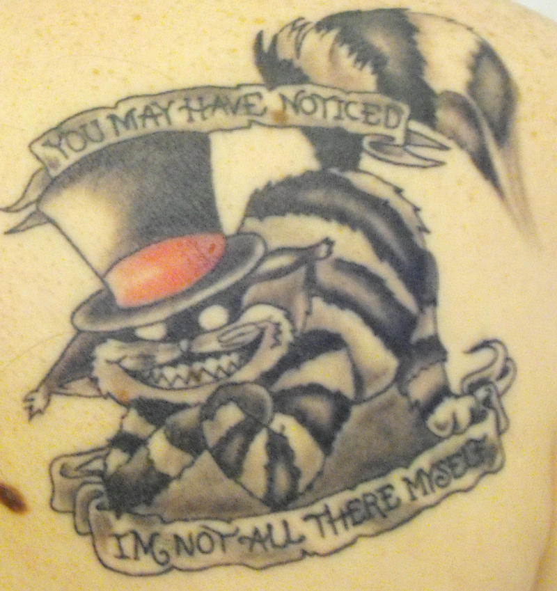 Cheshire Cat Tattoo by ~GaEv on deviantART