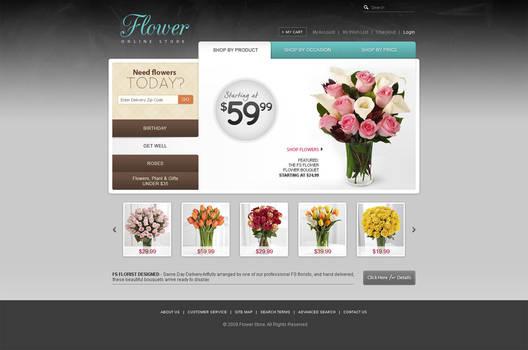 Flower store by skriki