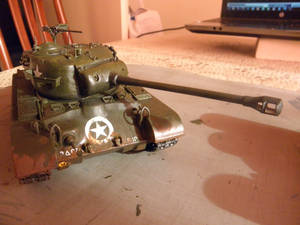 Front view of a Pershing model