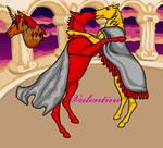 Valentine Horse Dance by ponytalover