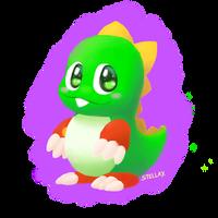 Bubble Bobble - Bub by Stella-X