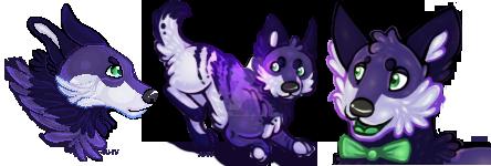 Purple Vibes by As-If-Akira