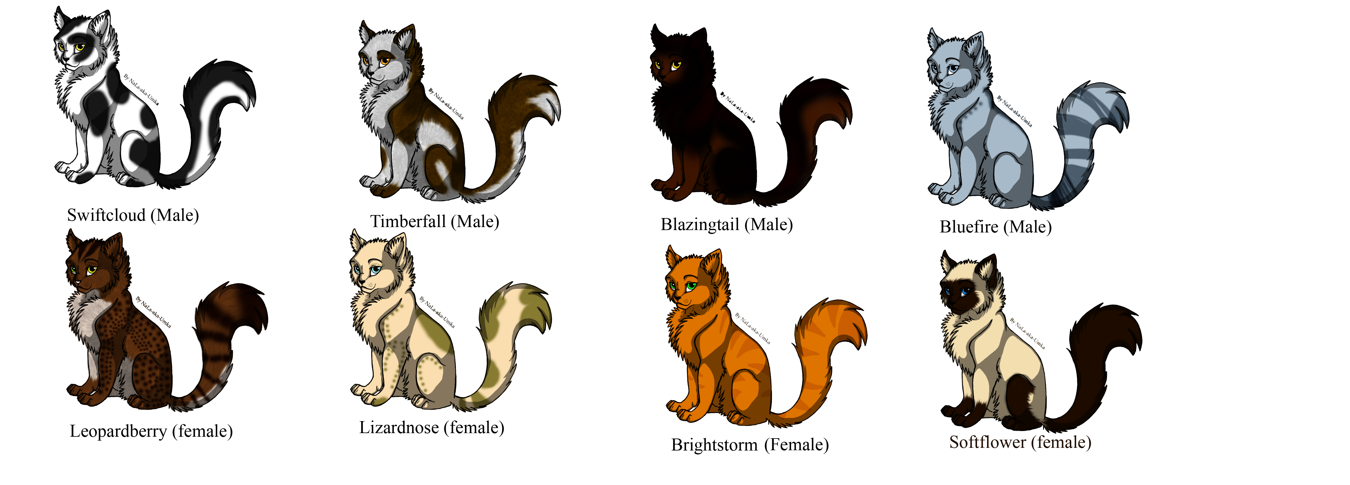 Free Warrior Cat Breedables by Natural 20 on DeviantArt