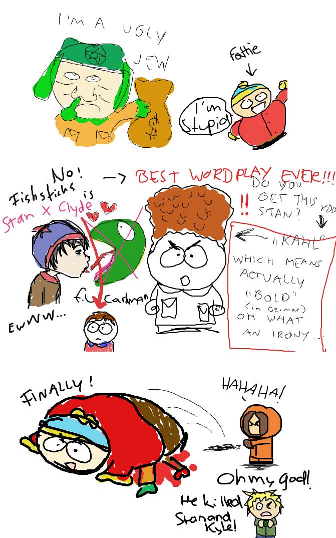 cartman behindert