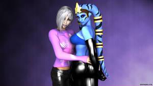 Fern and Nadia 002