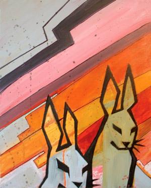 Evil Bunnies by kimrhodes