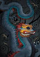 Blue Dragon by kimrhodes