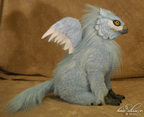 Blue Griffin by *kimrhodes