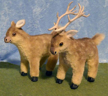 Deers by kimrhodes