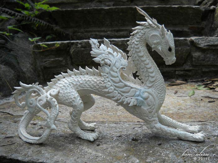 Dragon Sculpture WIP by *kimrhodes